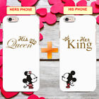 HIS AND HERS MR MRS KING AND QUEEN VALENTINE'S DAY PHONE CASE COVER FOR IPHONE