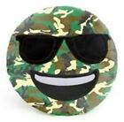 Camo Emoji Pillow