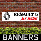 Renault 5 GT Turbo PVC Banner Garage Workshop Advertising Signs (BANPN00202)