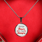 Spanish-Nuestro Amor Es Para Siempre ( Our Love is Forever)-Handmade Stainless S