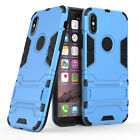 Tough Shockproof Rugged Rubber Armor With Stand Case Cover For Apple iPhone X 10