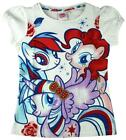 Girls My Little Pony Rarity Pinkie Pie Rose Gem Bow MLP T-Shirt Top 4 to 7 Years