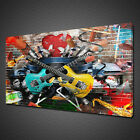 GUITARS FAST CARS GRAFFIT CANVAS PICTURE PRINT WALL ART HOME DECOR FREE DELIVERY