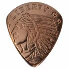 Hand Crafted Guitar Pick Made From Pure Copper Round Coins