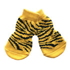 Dog Socks - Tiger Winter Dog Socks - Pk 4 - RichPaw - Non Slip S to XL