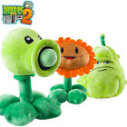 flowers vs zombies - 30cm Kawaii Plants vs Zombies Plush Toys Pea Shooter Sunflower Squash Soft Toys
