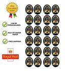 24 x Edible 50th Golden Anniversary Wafer / Icing Cup Cake Toppers