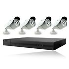4CH Hikvision CCTV FULL HD 1080P 2.4MP Night Vision DVR Home Security System Kit
