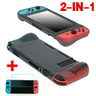For Nintendo Switch 2in1 Protective Skin Shell Case +Clear Screen Protector Film