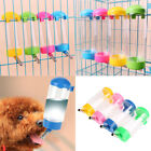 Hanging Water Bottle Dispenser Auto Water Feeder for Pets Dogs Rabbits Cat 400ml