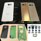 Back glass Cover Battery Door Housing + Camera Lens for Samsung Galaxy S7 G930