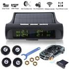 Solar Power Car Auto TPMS Tire Pressure LCD Monitor System Wireless 4 Sensors