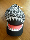 MARKS AND SPENCER SCARY MONSTER SNAKE SUMMER SUN CAP HAT 3 6 10 14 YR UPV 40 SPF