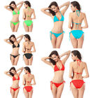 Sexy Women Bandage Bikini Set Push-Up Bra Swimwear Swimsuit Bathing Beachwear BD
