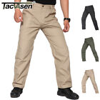 TACVASEN Mens Tactical Ripstop Cargo Pants Military Workout Police Pants Trouser