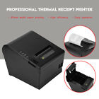 80mm ESC POS Dot Receipt Label Barcode Thermal Printer USB + LAN Port 250mm/s LJ