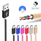 Strong Braided Metal Micro USB Charge Data Cable for Zopo Smartphone