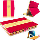 Luxury Premium Rich Boss Leather Case Designer Protective Cover for Apple iPads