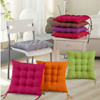 dining chair seat cushions with ties - Indoor/Outdoor Cushion Seat Chair Pad with Ties Garden Dining Yard Patio Office