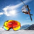 Fashion Spherical Surface Skiing Goggles Double Layers UV400 Anti-Fog Glasses HL