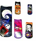 Junior's Halloween Socks Jack Skellington Monster High Snoopy Betty Boop  NWT $11.67 CAD on eBay