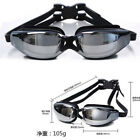 New Pro Adult Waterproof Anti-Fog UV Protect Swim Swimming Goggles Glasses US KY