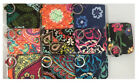 NEW Vera Bradley Campus Double ID Badge Wallet Card Case Key Ring - Choose color