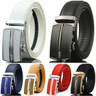 Внешний вид - Men's Genuine Leather Exact Fit Automatic Buckle Ratchet Golf Dress Belt