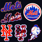 "5"" 10"" 15"" 20"" New York METS Mr Met NY Baseball Car Window Wall Decal Sticker"