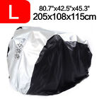Waterproof Cycle Cover For Bicycle Bike Rain Resistant Storage for 1/2/3 Bikes