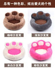 Внешний вид - Paw Shape Pet Dog Cat  Puppy Bed Soft Fleece Doghouse Kennel Mat Cushion GIFT