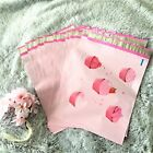100 Pink Cupcakes Designer Poly Mailers, Plastic Envelopes Shipping Bags