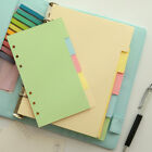 page divider template - Candy Colorful Divider Separate Page Simple for  Notebook Agenda Planner Filofax