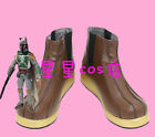 New !  Star Wars Boba Fett Cosplay Shoes  Boots Custom Made $44.0 USD on eBay