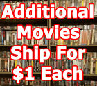 period films list - HUGE DVD List! 200+Titles I-O - Combine Shipping! $3 & $1ea add. FAST SHIPPING