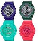 Jewelry Watches - Casio G-Shock S Series Unisex Quartz Analog-Digital Alarm Multi-Color Watch