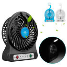 Mini Portable Super Quiet USB Desk Fan Home Office Electric Computer Air Cooler
