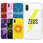 Percy Jackson Camp Half Blood Novel Gods Silicone Phone Cover Case For iphone