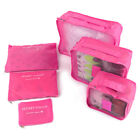 6X Travel Organizer Bag Clothes Pouch Portable Storage Case Luggage Suitcase BW