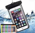 """6"""" WATERPROOF POUCH CASE CREDIT CARD PASSPORT FOR Samsung Galaxy S7 S8+ Note LG"""