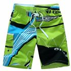 Men Beach Surf Shorts Quick Dry Swimwear Loose Elastic Drawstring Swim Trunks KG