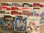 Nintendo Wii Games! Many to Choose From! Mario , Star Wars , Sonic !