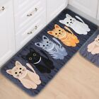 Honana WX-47 Kawaii Floor Mats Animal Cute Cat Bathroom Kitchen Carosets Living