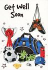 Get Well Soon - Football Match or Football Kit Get Well Card