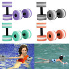 2 Pool Dumbbell Aquatic Workout Water Exercise Weight Aqua Fitness Hydro Therapy image
