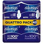 Always Ultra Night Sanitary Towels Pads With Wings Pack of 40, 80 or 120