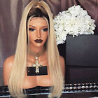 Lace Front Wigs Human Hair Ombre 1B 613 Blonde 130 Density Brazilian Human Hair