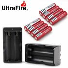 New BRC 18650 Battery 4000mAh Li-ion 3.7V Rechargeable Batteries + Charger Hot