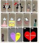best phone cases for iphone 5 - cute kiss bbf best friends lover Hard Phone Cover Case for iphone 5 6 7 8 plus X