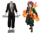 Fairy Tail Brave Guild Card-based Game Natsu Dragneel Cosplay Costume